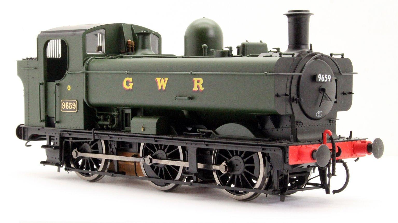 Class 57xx 0-6-0PT Pannier 9659 in GWR Green