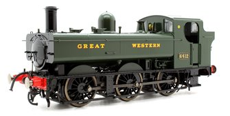 Class 64xx Pannier 6412 Great Western Green - DCC Sound