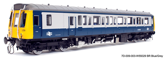 Class 121 W55029 BR Blue-Grey - DCC Fitted