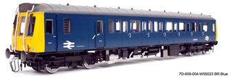 Class 121 W55023 BR Blue	- DCC Fitted