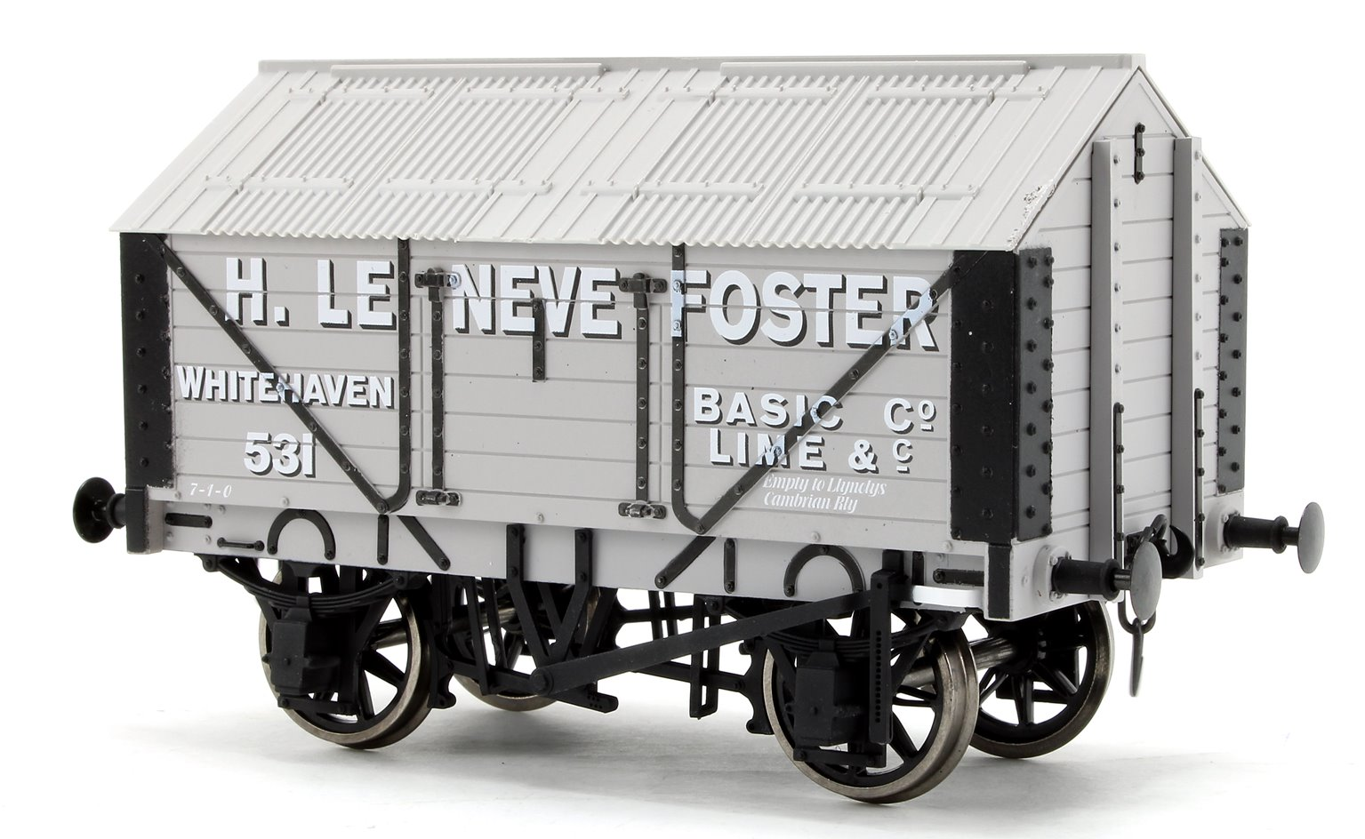 Lime Wagon H. Le Neve Foster No.531