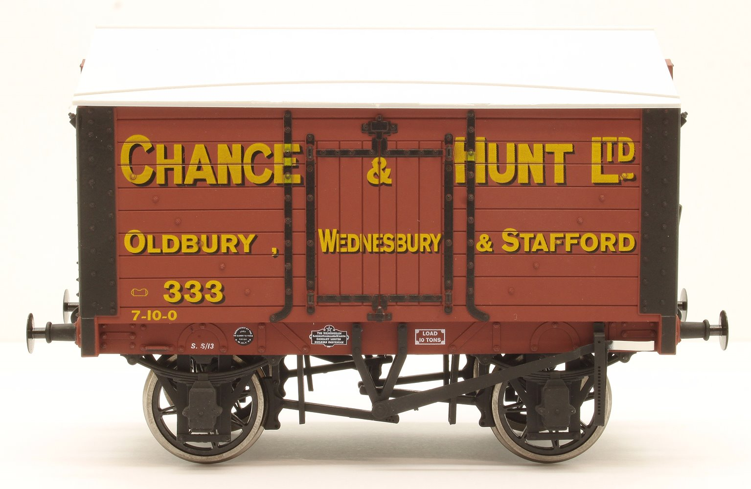 Salt Van Chance & Hunt Oldbury 333