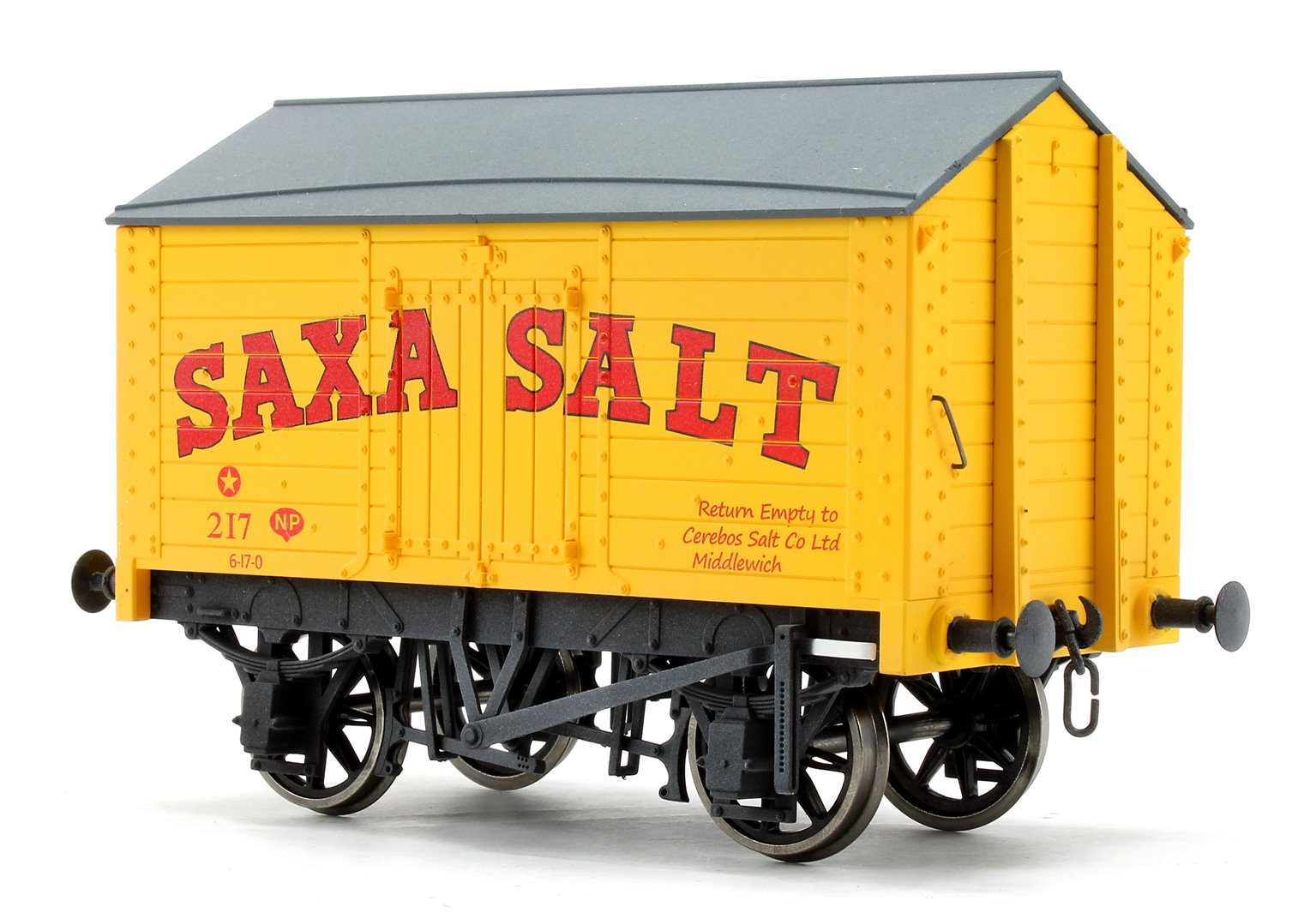 Salt Van Saxa Salt 217 Weathered