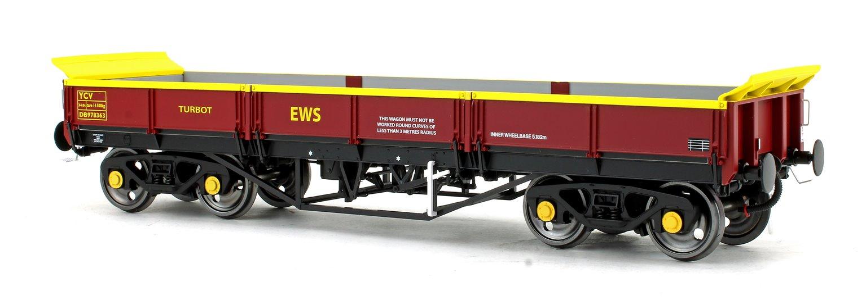Turbot Bogie Ballast Wagon EWS Maroon DB978363