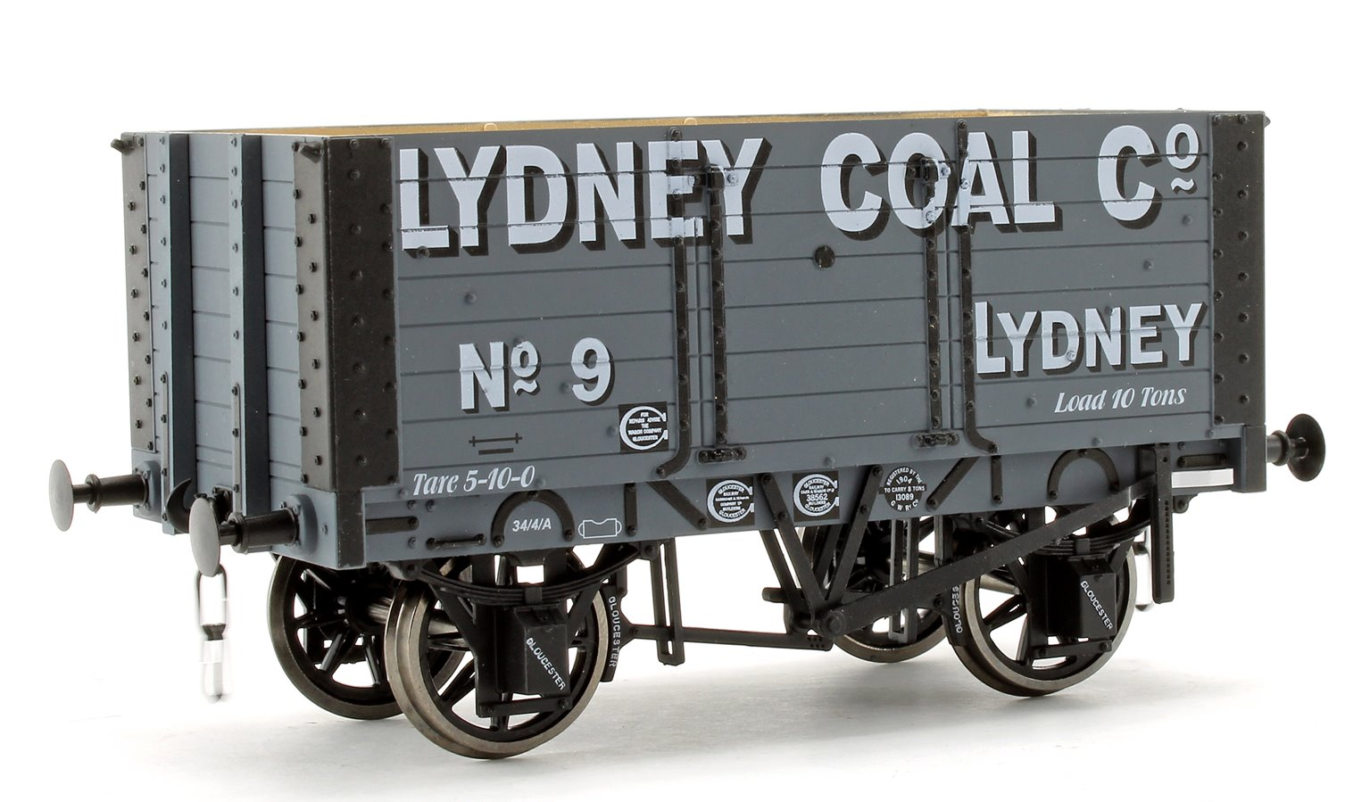 Lydney Coal Co 7 Plank 9' W/B Two Door Wagon No.9