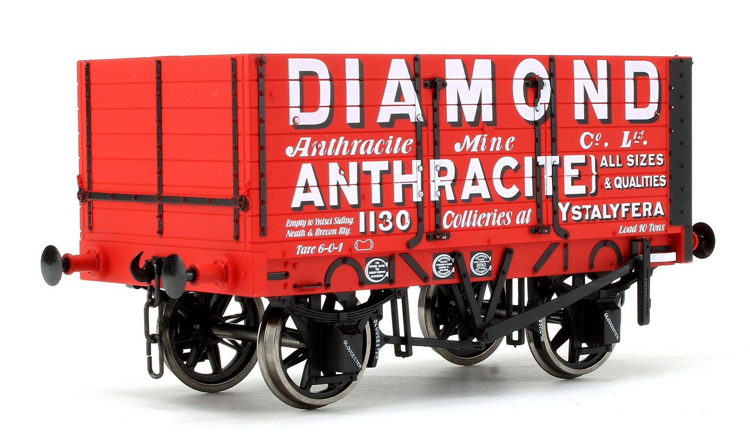 Diamond Anthracite 7 Plank Wagon No.1130
