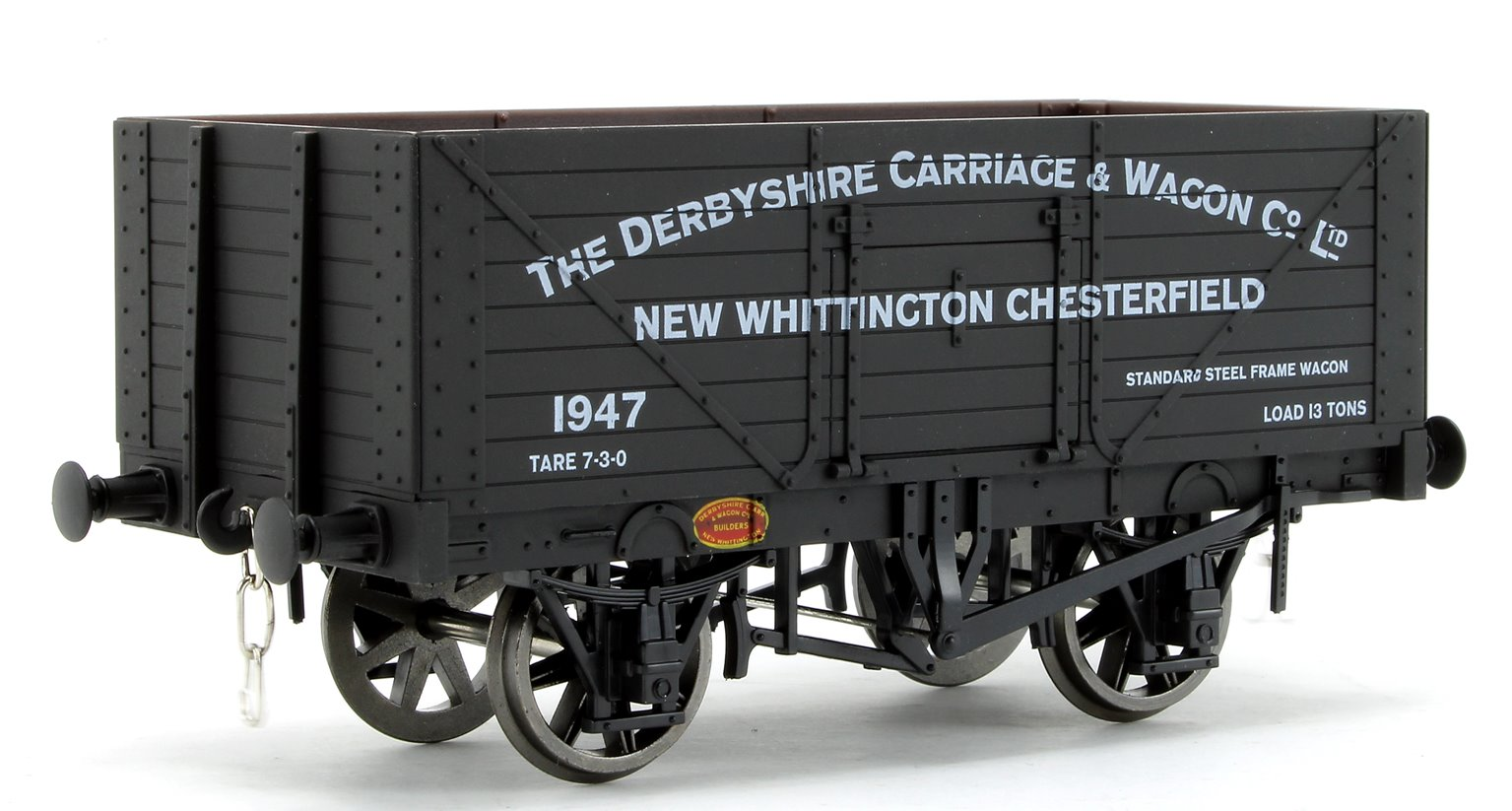 Derbyshire Carriage 8 Plank Open Wagon No.1947