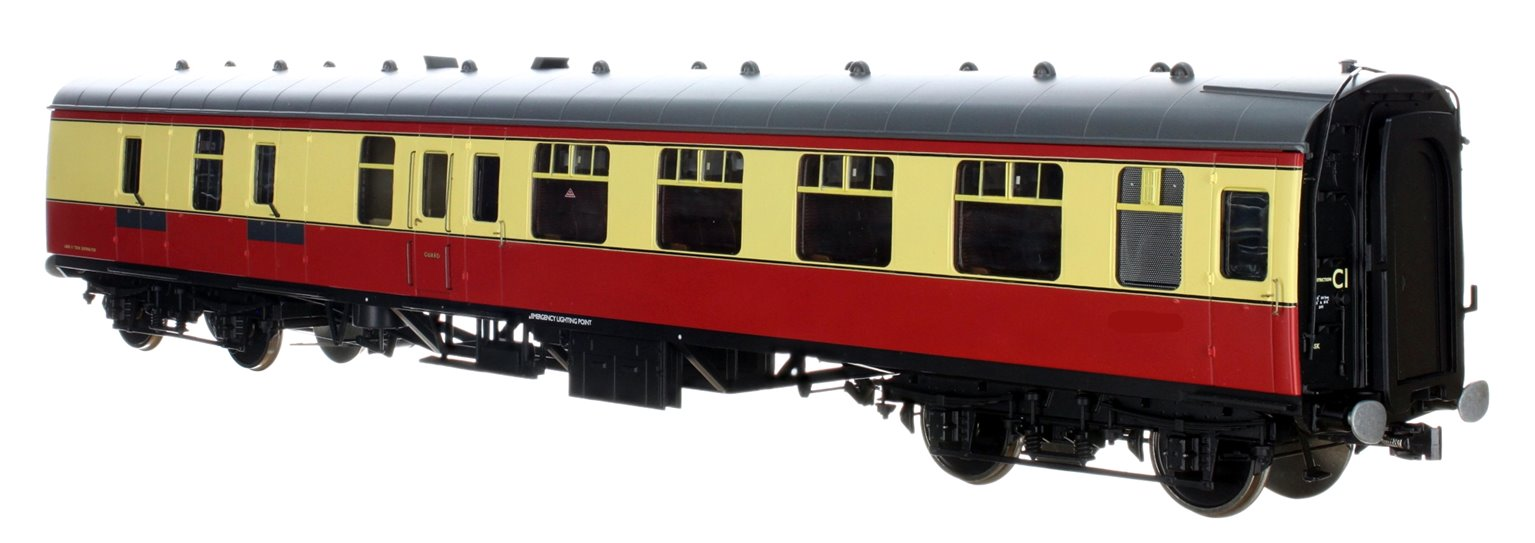BR ER Crimson & Cream BSK Coach (Unnumbered)