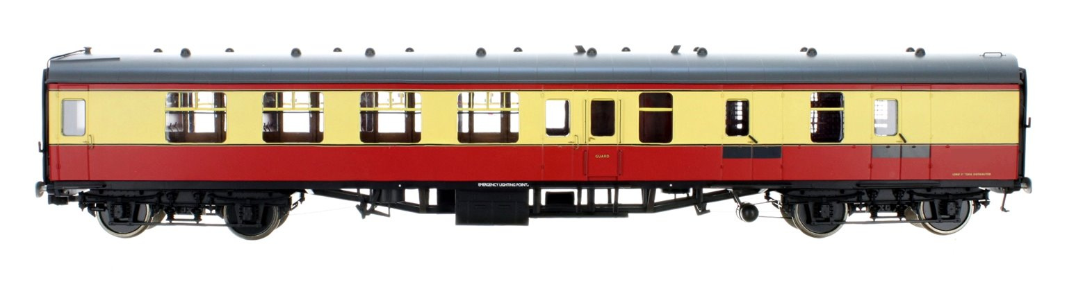 BR ER Crimson & Cream BSK Coach (Unnumbered) DCC Fitted