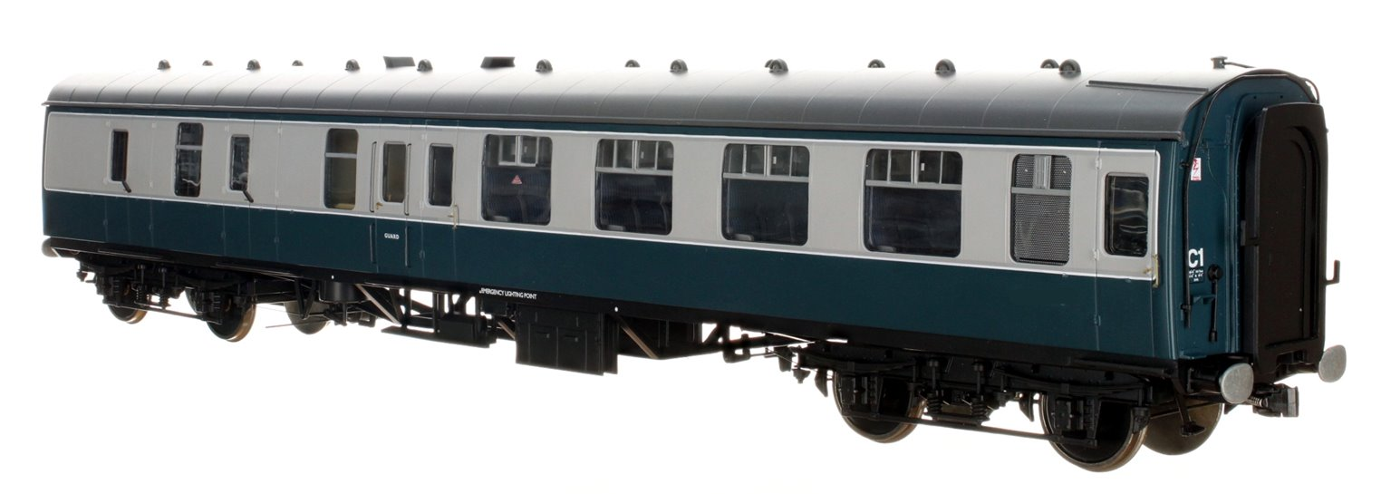 BR Blue/Grey BSK MK1 Coach (Unnumbered)