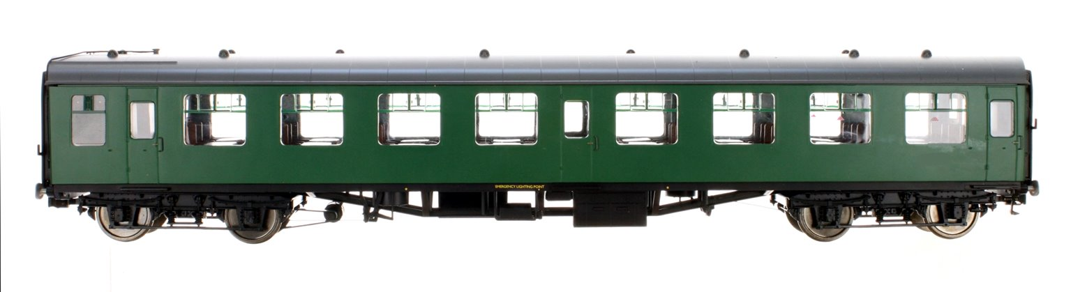 BR SR Green MK1 SO Coach (Unnumbered) DCC Fitted