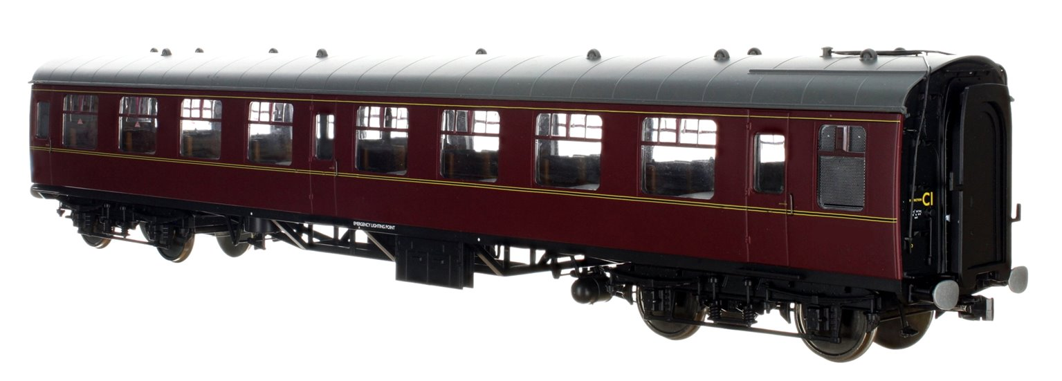 BR MR Maroon MK1 SO Coach (Unnumbered)