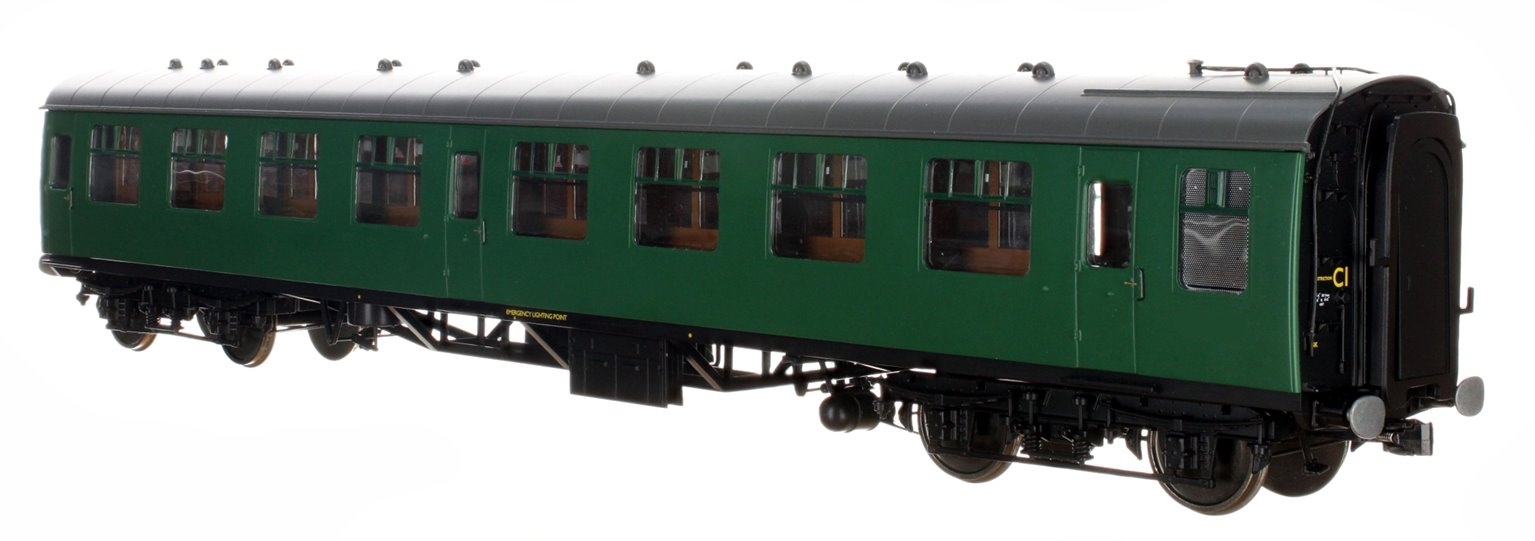 BR SR Green MK1 SK Coach (Unnumbered) DCC Fitted