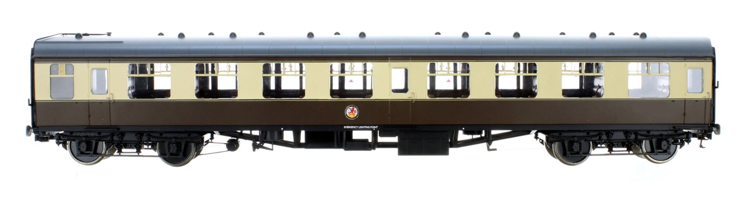 BR WR Chocolate & Cream SK MK1 Coach (Unnumbered)