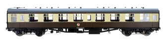 BR WR Chocolate & Cream SK MK1 Coach (Unnumbered) DCC Fitted