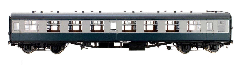 BR Blue/Grey SK MK1 Coach (Unnumbered)