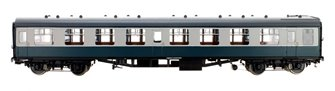 BR Blue/Grey SK MK1 Coach (Unnumbered) DCC Fitted