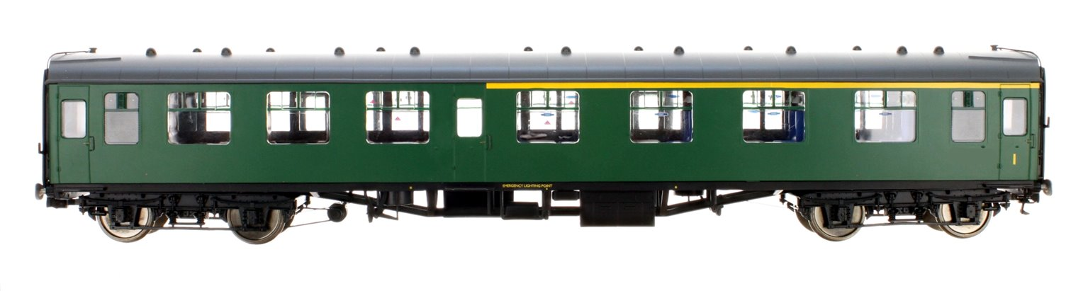 BR SR Green MK1 CK Coach (Unnumbered) DCC Fitted