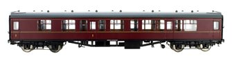 BR Mk1 MR Maroon CK (Unnumbered) DCC Fitted