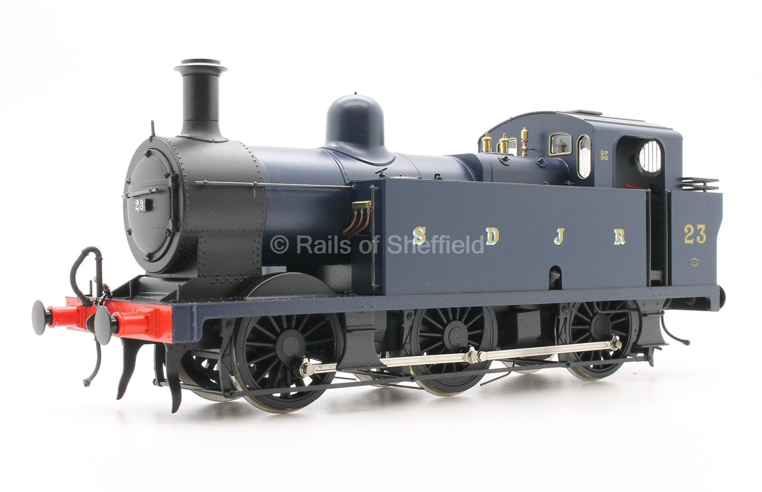 Class 3F 'Jinty' 0-6-0T in S&DJR Prussian Blue - DCC Sound Fitted