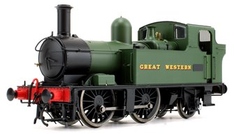 48xx Class GWR Great Western Green Unnumbered Auto fitted DCC Sound