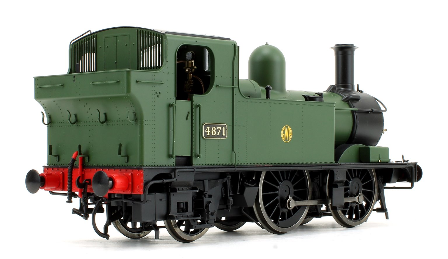 48xx Class GWR Shirtbutton Green 4871 DCC Fitted