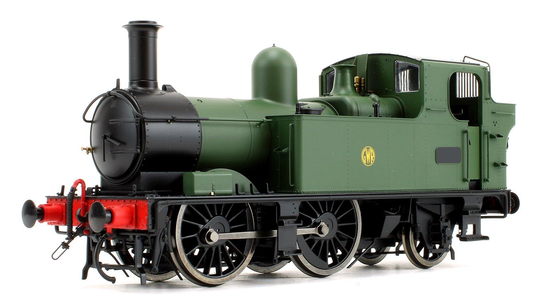 48xx Class GWR Shirtbutton Green Unnumbered DCC Sound
