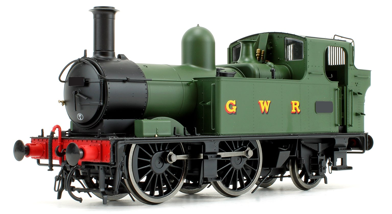 14xx Class Green GWR Green Auto fitted Unnumbered DCC Fitted