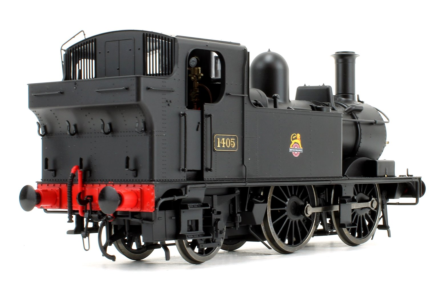 14xx Class BR Early Crest Black 1405 Auto fitted Top Feed DCC Sound