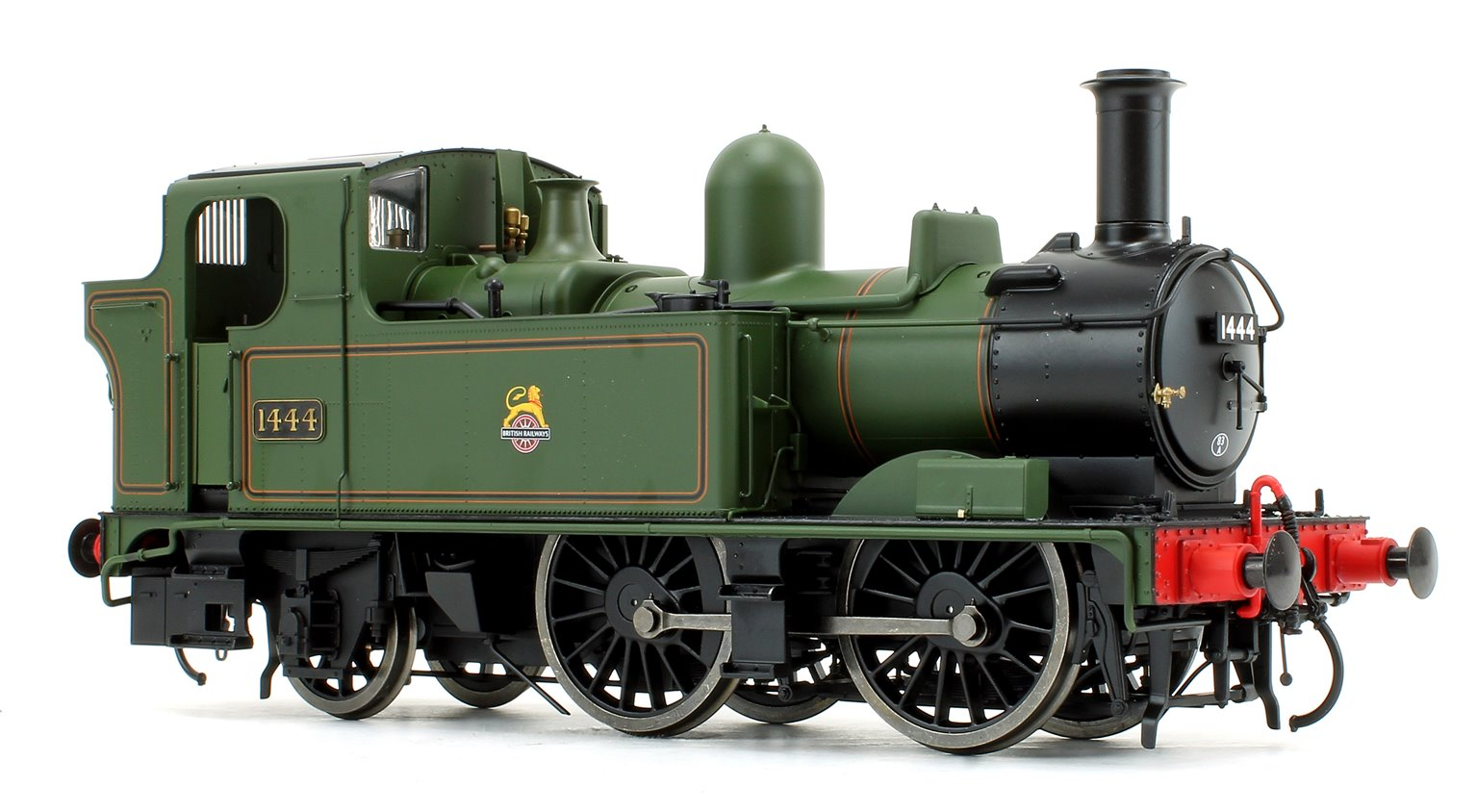 14xx Class BR E/Crest Lined Green 1444 Auto fitted Top Feed DCC Sound