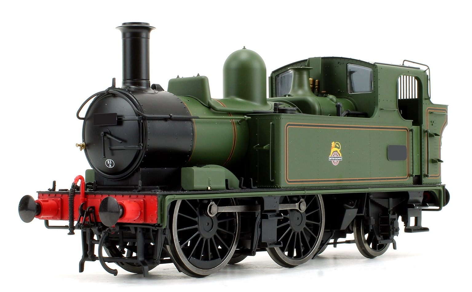 14xx Class BR E/Crest Lined Green A/fitted Top feed Unnumbered DCC Fitted