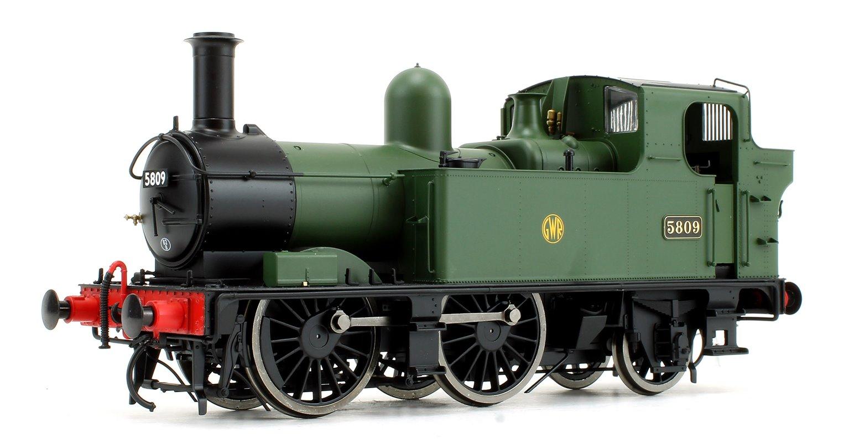 58xx Class GWR Shirtbutton Green 5809 DCC Fitted