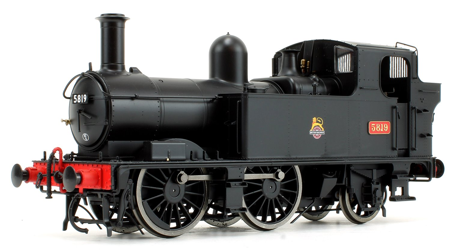 58xx Class BR Early Crest Black 5819 DCC Fitted