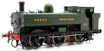 Class 57xx 0-6-0PT Pannier 5700 in Great Western Green