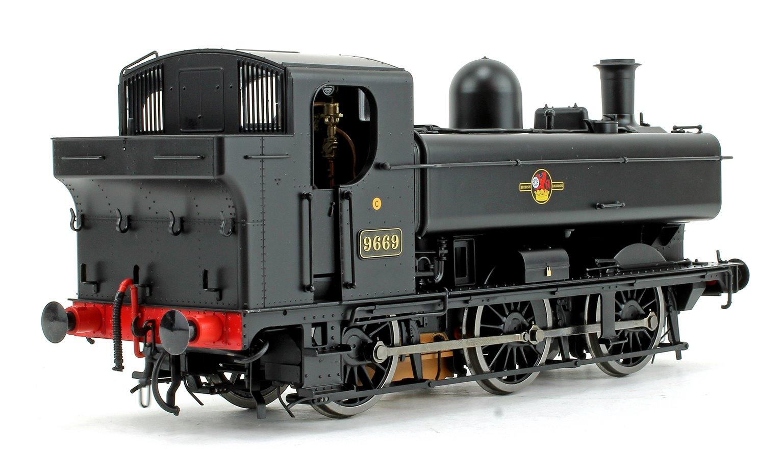 Class 57xx Pannier 9669 BR Black Late Crest DCC