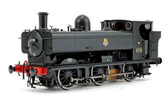 Class 57xx Pannier 6739 BR Black Early Crest