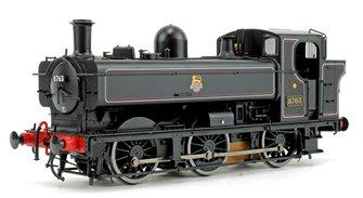 Class 57xx Pannier 8763 BR Lined Black Early Crest DCC Sound