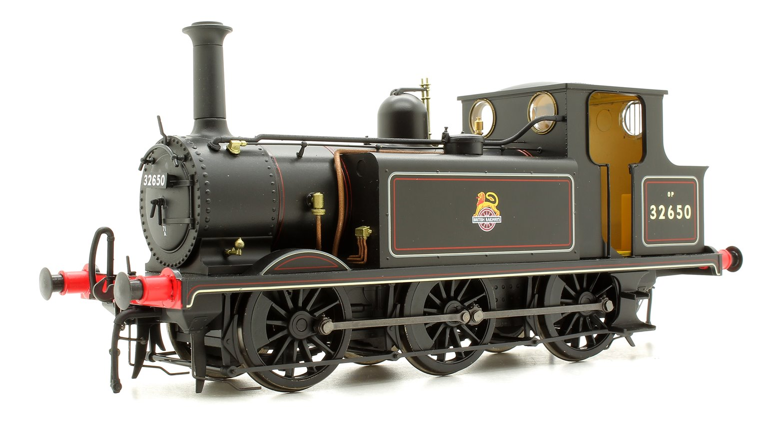 Terrier A1X 32650 BR Lined Black Early Crest - DCC Fitted