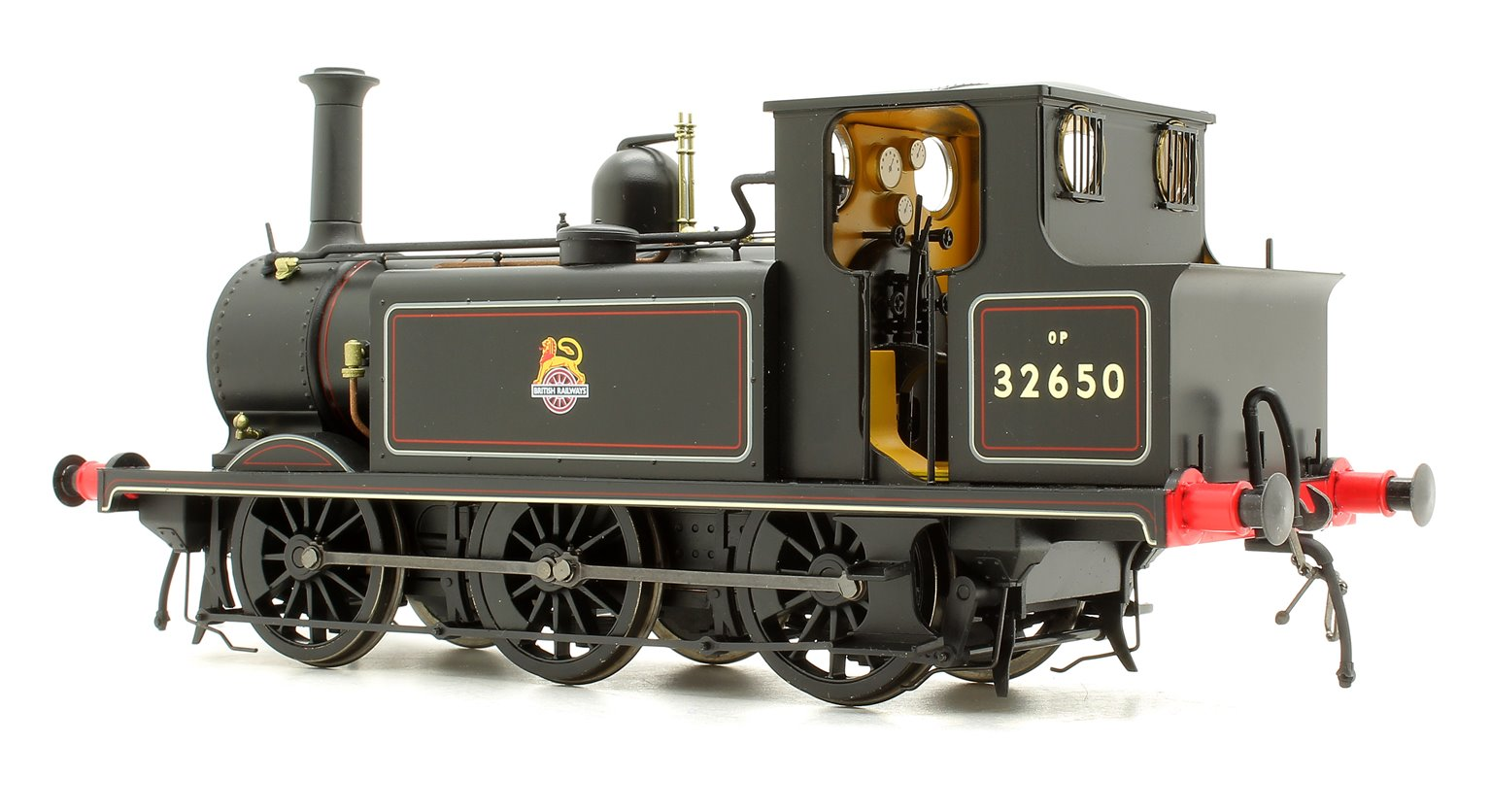 Terrier A1X 32650 BR Lined Black Early Crest - DCC Sound