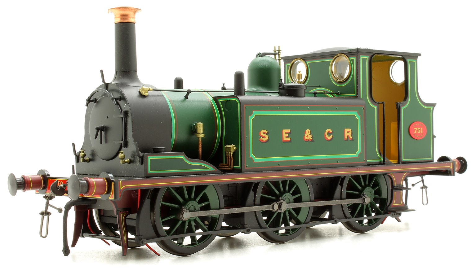 Terrier A1 751 SECR Green - DCC Sound