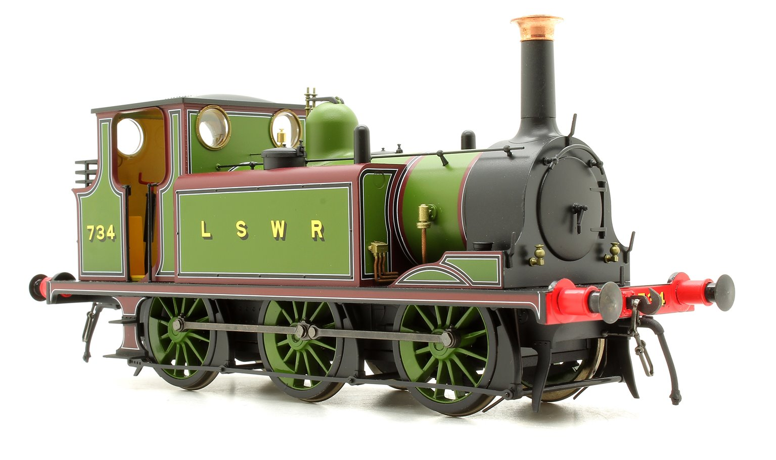 Terrier A1 734 LSWR Green - DCC Fitted