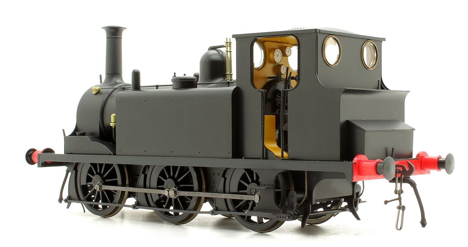 Terrier A1X Plain Black - DCC Fitted
