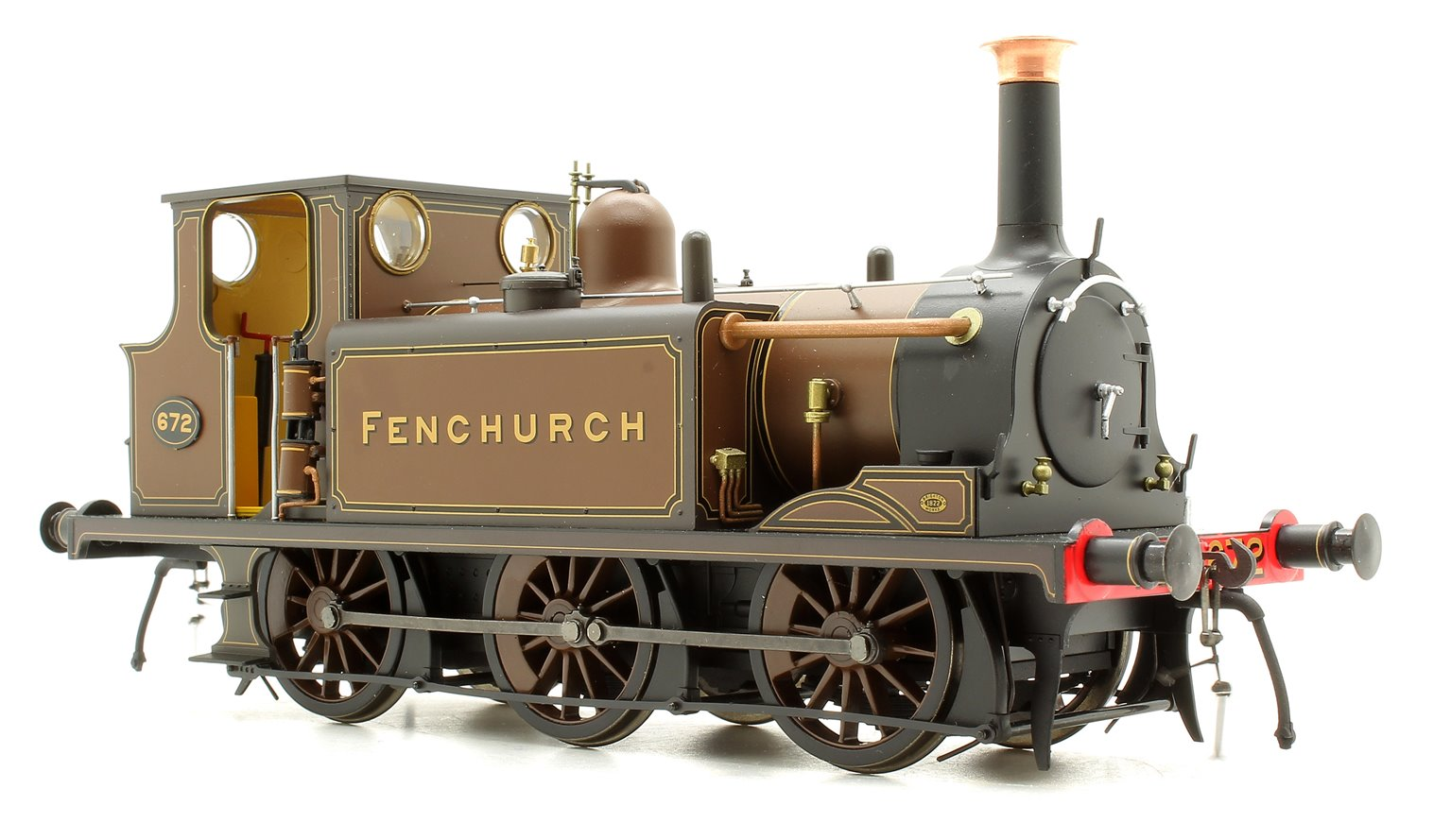 Terrier A1 Fenchurch Marsh Brown - DCC Sound