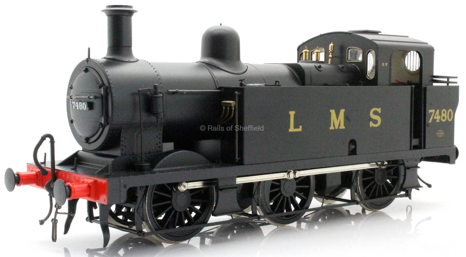 Class 3F 'Jinty' 0-6-0 7480 LMS Late Push Pull - DCC Sound Fitted