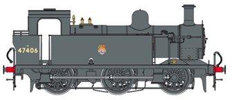 Class 3F Jinty BR Black 0-6-0 Tank Locomotive No.47406