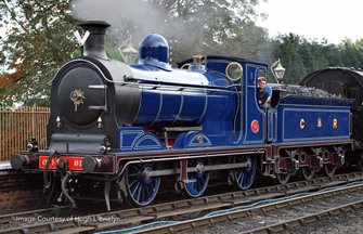 Caledonian Railway Blue McIntosh 812 Class 0-6-0 Steam Locomotive No.828 (As Preserved)