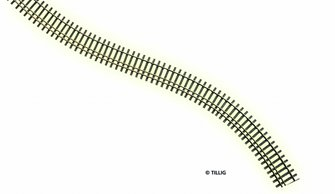Tillig elite track : Flex Track HO/HOm (Wooden Sleeper)