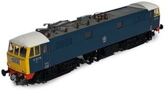 Class 86/0 'AL6' Bo-Bo Electric Locomotive BR Blue E3178 with full yellow ends, white cab roof and red bufferbeams