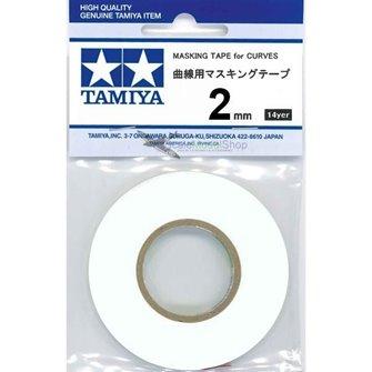 Tamiya 87177 Masking Tape For Curves 2MM