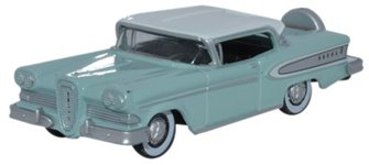 Oxford Diecast 87ED58005 1958 Edsel Citation Ice Green/Snow White